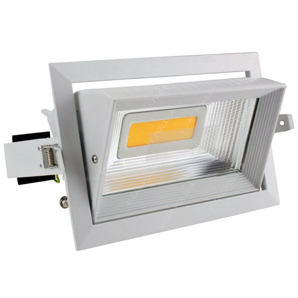 Hermetyczny downlight ZOOM LED 30W COB EPISTAR