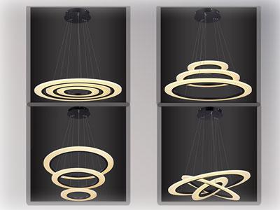 Regulacja pierścieni LED