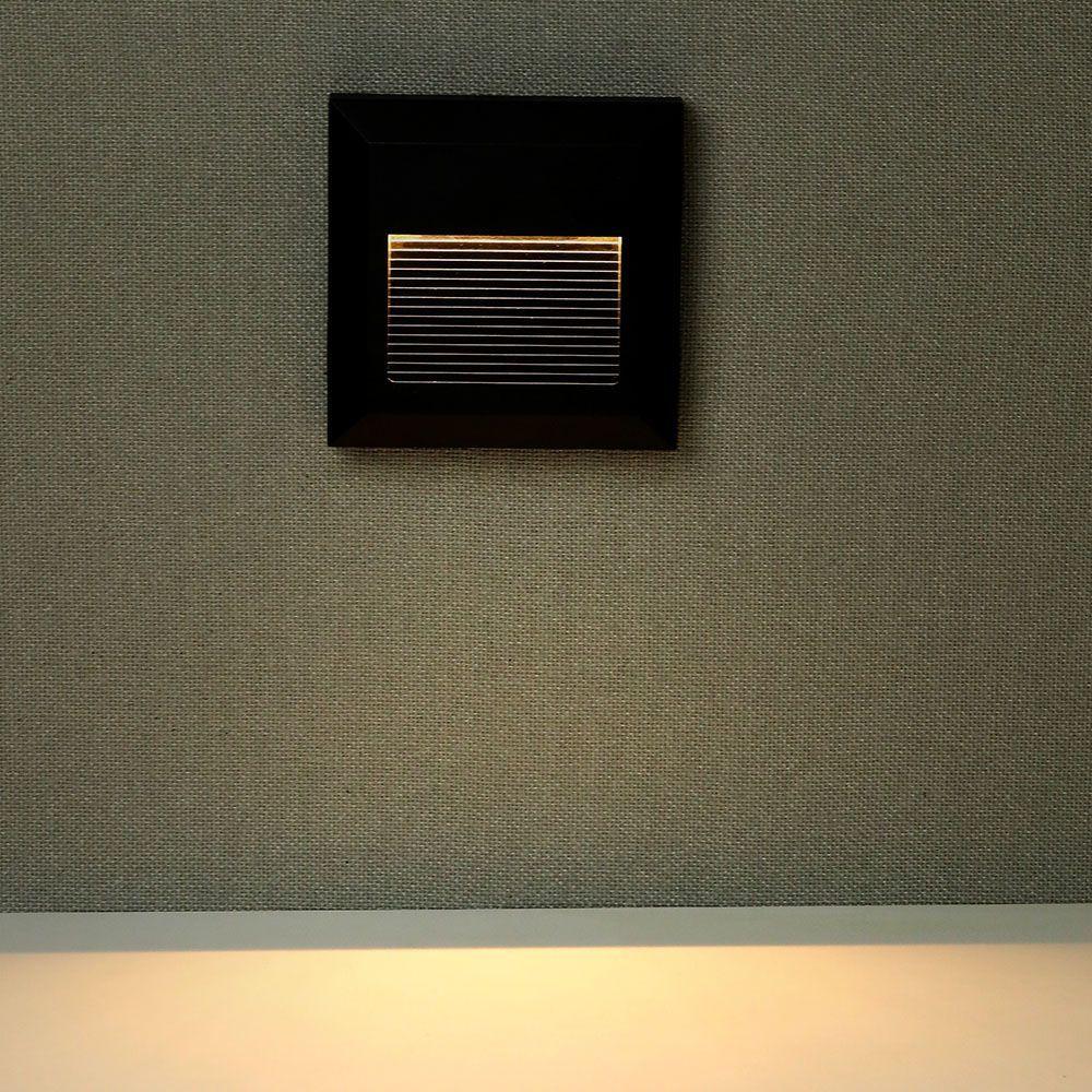 Natynkowa Oprawa Schodowa Led 2w Czarna Ip65 Vt 1152 Lampy Schodowe