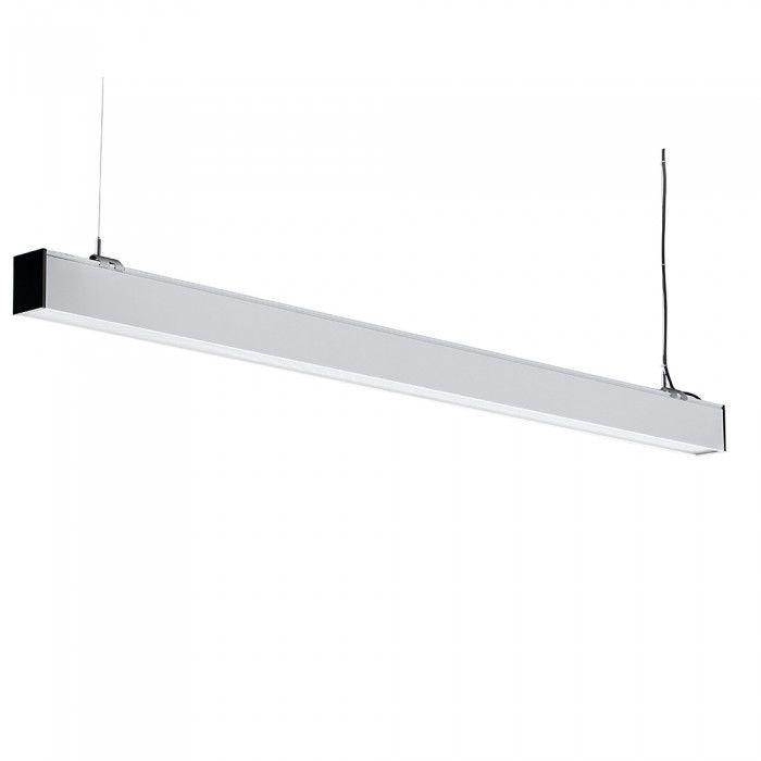 Ściemniana lampa liniowa LED SASMUNG 40W 4000lm 120cm VT 7 43 biała