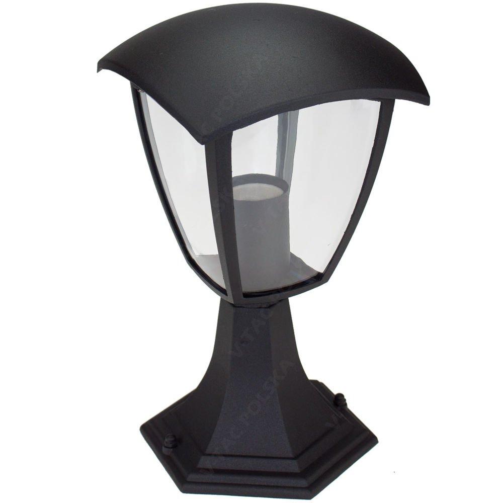 Stojąca Lampa Ogrodowa Pojedyncza Vt 754 Czarna Lampy Ogrodowe