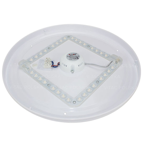 Plafon LED BLING STAR 24W Ø330mm 1680lm VT-8064